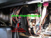 Scania R - Podłączenie GPS do magistrali CAN
