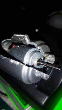 spalona część przekaźnika prądu ?