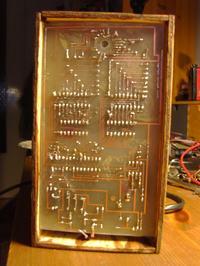 Zegar VFD na radzieckiej lampie IW-18