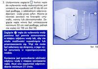 Pralka polar PDC 585 pobieranie wody