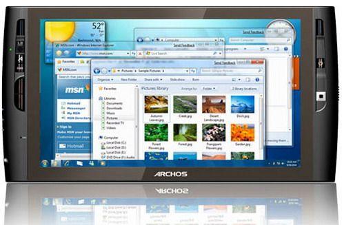 Nowy UMPC - Archos 9 - zdjęcie, dane