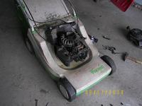 kosiarka Viking 10-letnia biały dym, nierówna praca silnika