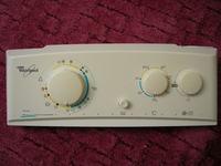 Whirlpool AWG 680 maskownica panelu - wytarte oznaczenia