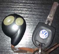 Problem z pilotem od centralnego zamka VW GOLF IV '98