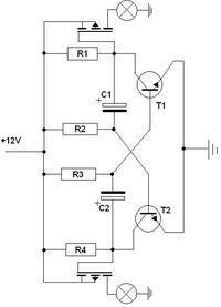elektroniczny przerywacz- przeróbka schematu