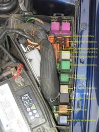 Znikające zasilanie pompy paliwa Opel Omega 1995r 2,5 V6