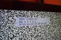 Philips 42PFL7662D/12 - zawężony obraz, poziomy pas u dołu, błędy