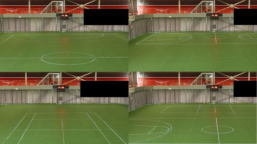 Diody LED od LEDSSPORT zast�pi��myl�ce oznaczenia na boiskach wielofunkcyjnych