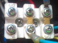 Kompresor - pod��czenie kondensator�w.