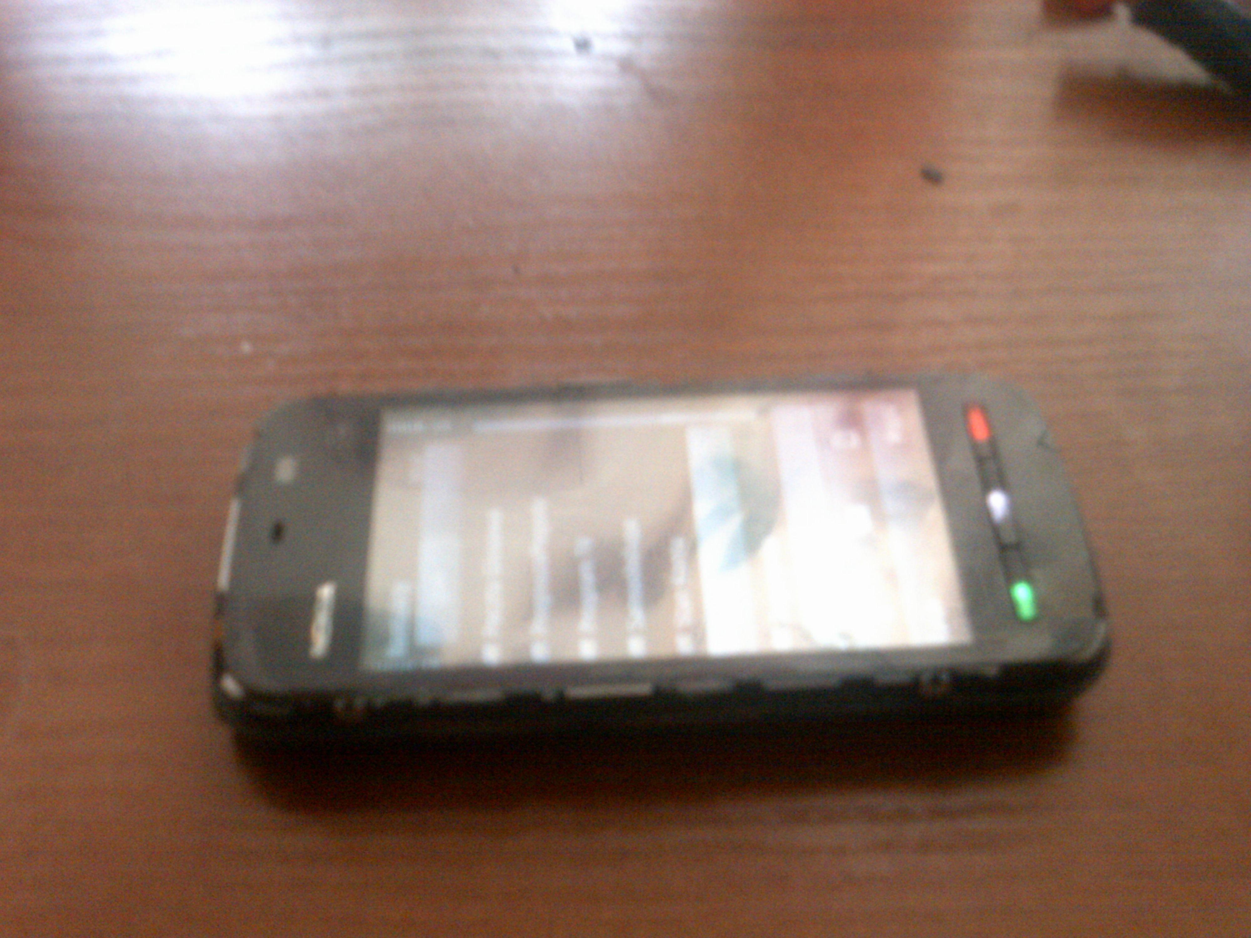 Nokia 5230 i niedzia�aj�cy ekran dotykowy(ale nie do ko�ca).