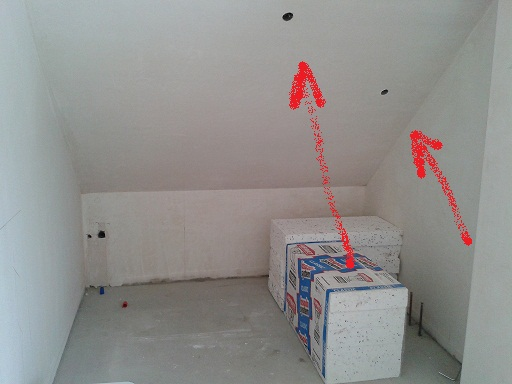 Led Oświetlenie Ledowe W Puszkach Fi 60 Na Suficie W łazience