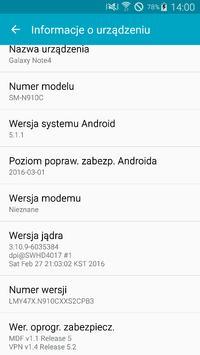 Samsung Galay Note 4 SM-N910C - Brak numeru IMEI nie czyta karty SIM