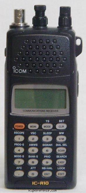 Icom R-10, R10 Instrukcja PL