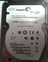 Seagate Momentus Thin - Komputer nie widzi dysku podłączonego przez adapter USB.