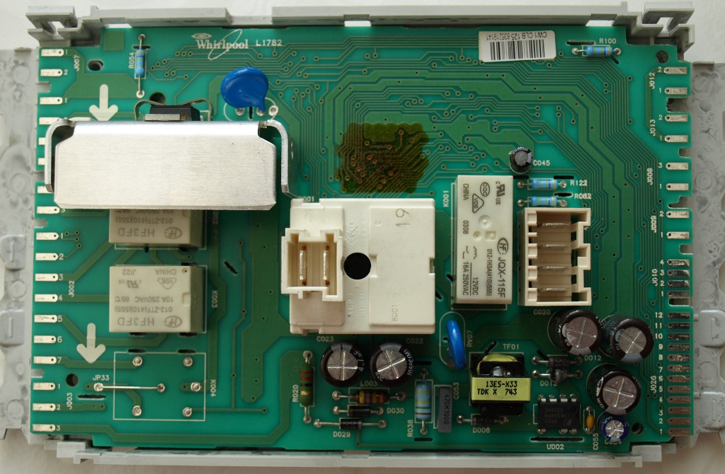 Schema Elettrico Lavatrice Whirlpool : Lavatrici whirlpool riparazione schede che non si