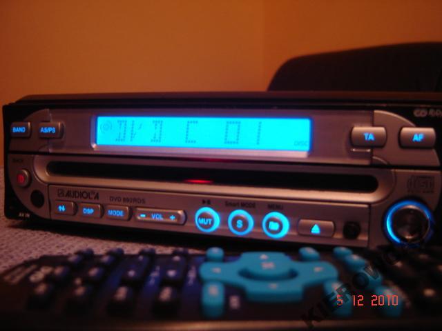 DVD samochodowe Majestic DVX 281 RDS z ekranem 7cali- laser