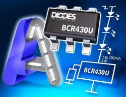 Liniowy sterownik LED LDO od Diodes Incorporated