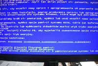 EV2313WH-BK - Komputer PC startuje, ale nie ma obrazu na monitorze...