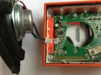 Głośnik Bluetooth JBL GO - Po zalaniu (naprawa)