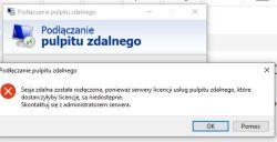 Serwer Windows 2016 - zdalny pulpit po sieci wewnętrznej LAN