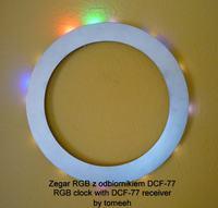 Zegar RGB (WS2812B) z DCF-77