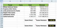 Excel - Makro, przejście do komórki niżej