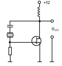 termostatowany generator z rezonatorem kwarcowym