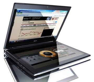 "Acer Iconica 6120 - tablet z dwoma ekranami 14"" i Windows 7"