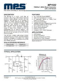 DC-DC CA-146C 700KHz/1.3MHz Boost Switch a 2A