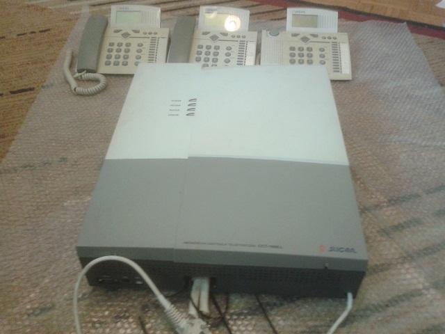 [Sprzedam] Centrala telefoniczna slican + 7 telefon�w - grosze