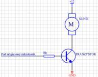 Sterowanie silnikiem przez atmega8