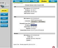 D-Link DI-524 - Roz��czanie sieci po up�ayni�ciu czasu dzier�awy adresu WAN