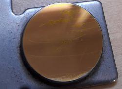 kalibracja lasera CNC - rozdwojona wiązka w niektórych obszarach