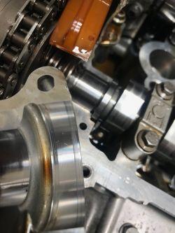 Citroen DS3 1.6 vti 120km - błąd czujnika położenia wałka rozrządu P000B wolna r