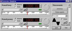 Generator dźwięków - Program na pc