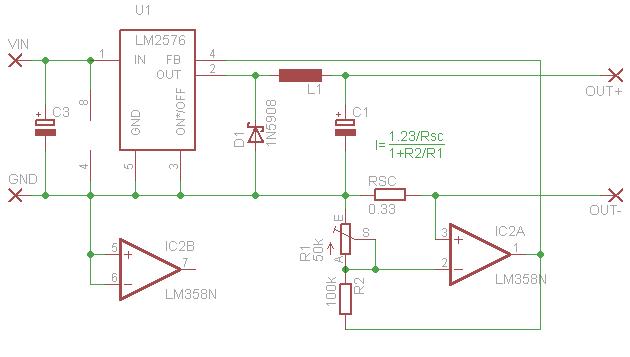 Superprosta przetwornica stałoprądowa do LEDów