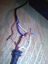 HP - Podłączenie kabli od zasilacza laptopa