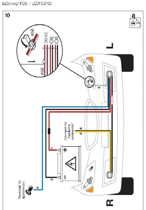 Toyota Rav4 2006 - Podlaczenie świateł do jazdy dziennej