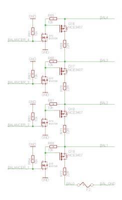 BMS do akumulatora 4S LiFePO4 pracujągo z zasilaczem buforowym