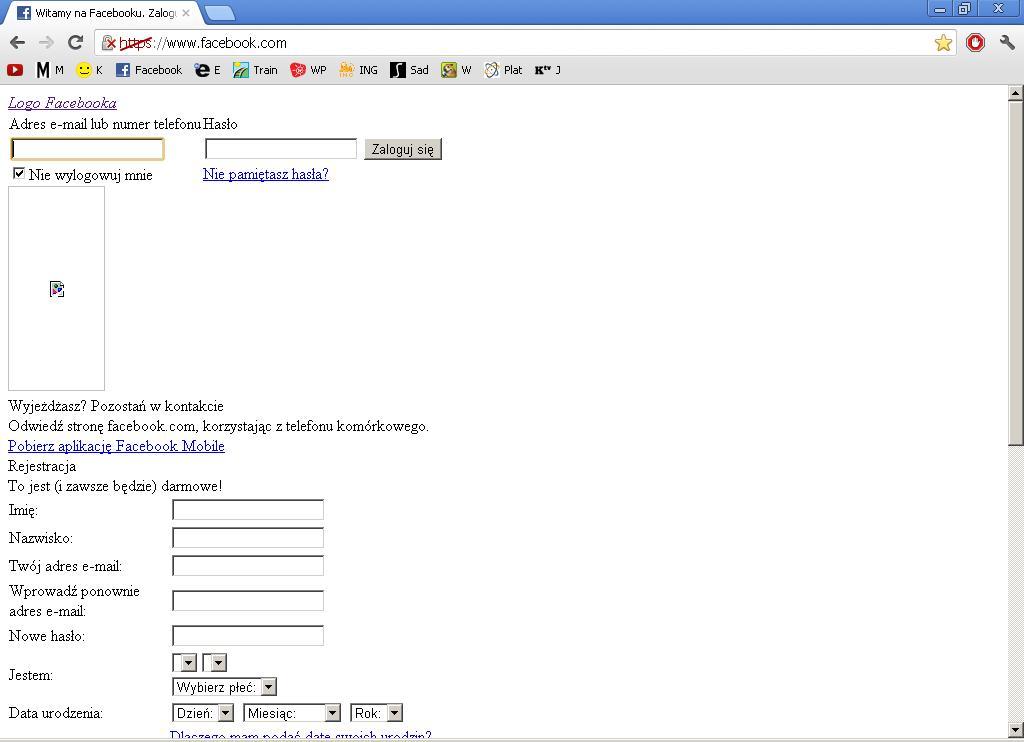 Firefox/Chrome - Brak certyfikat�w