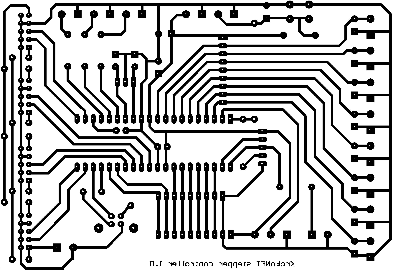 pcb rzeczywiste wymiary elektrodapl With diy circuit boards