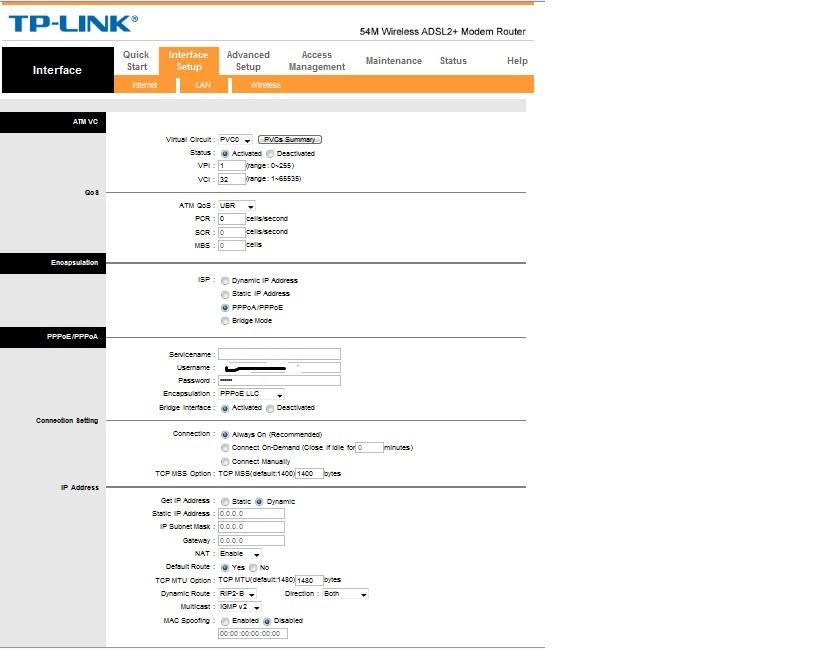 TP Link W8901g - Brak po��czenia z internetem przez Wifi