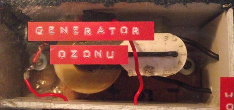 Odgrzybianie klimy, w�asny generator OZONU