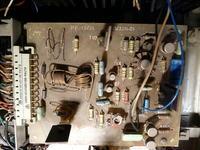 Wzmacniacz Eltron 100U - uszkodzony przedwzmacniacz