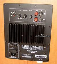 VK-7820 - Podłączenie subwoofera aktywnego do wzmacniacza stereo