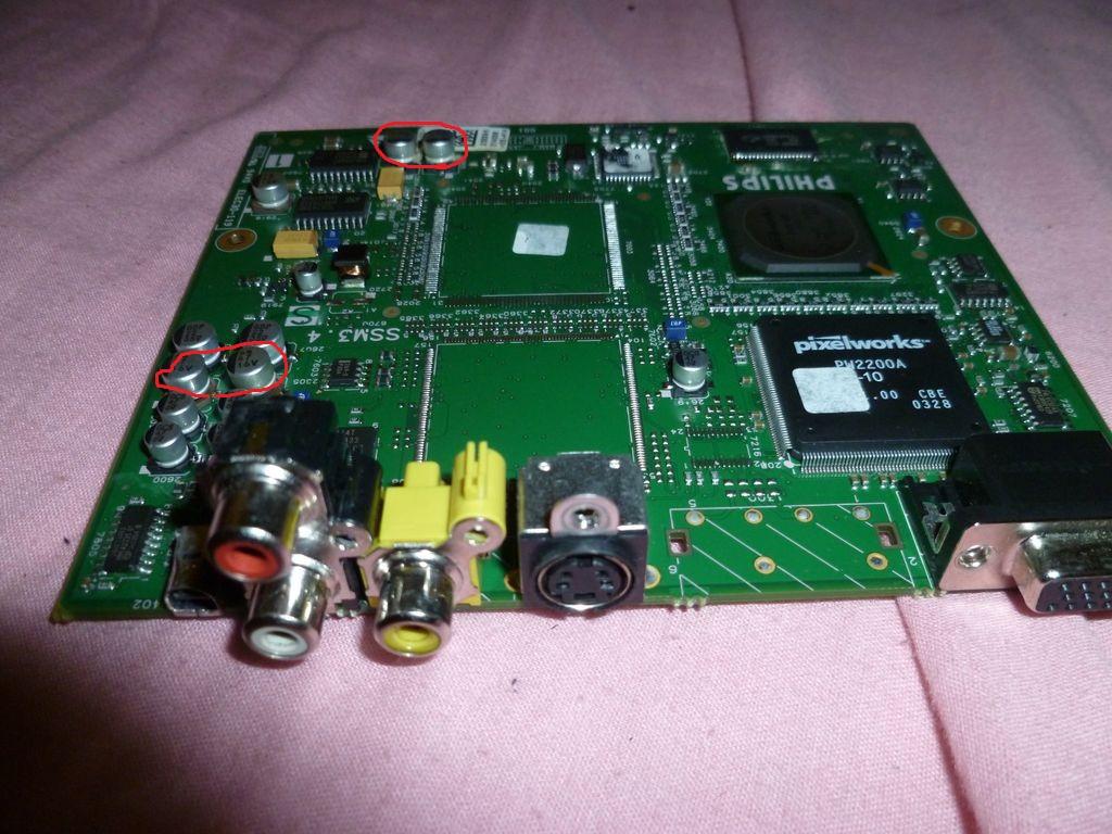 Philips LC 3631 brak obrazu.