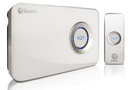 MP3 DJ Doorbell - bezprzewodowy, muzyczny dzwonek do drzwi od firmy Swann