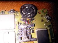 BlackBerry 8700g uszkodzony JOG DIAL