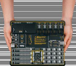 Uniwersalna płytka rozwojowa Fusion dla mikrokontrolerów PIC