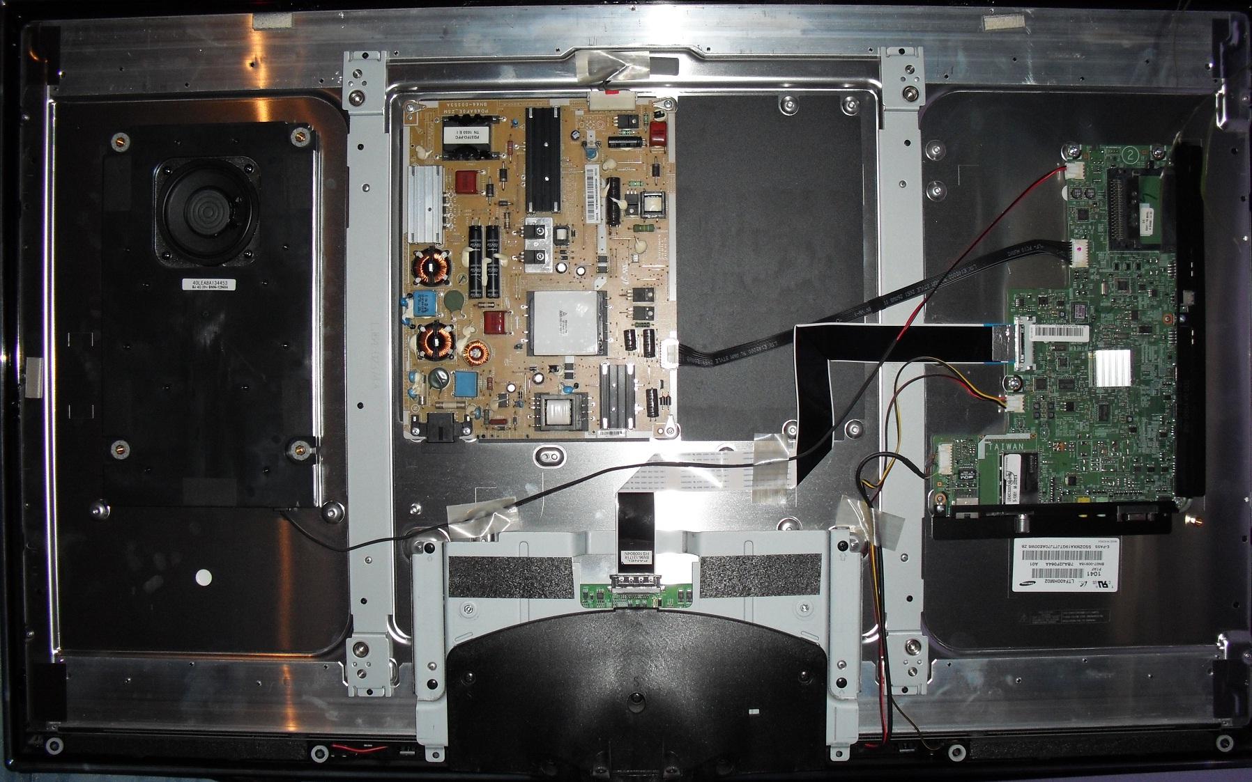 Samsung UE40C5000 - Pro�ba o wycen� podzespo��w.
